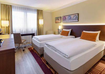 Mercure Hotel Duisurg City Twin Zimmer